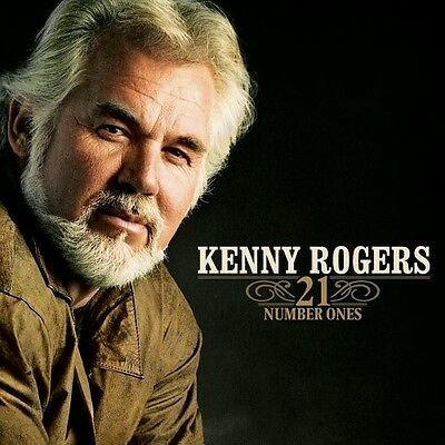 Kenny Rogers - 21 Number Ones New CD Rmst