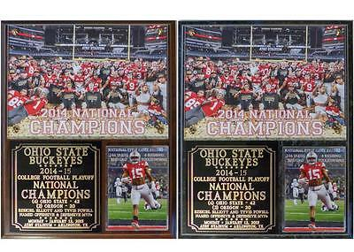 Ohio State Buckeyes 2014-15 College Football Playoff National Champions Plaque