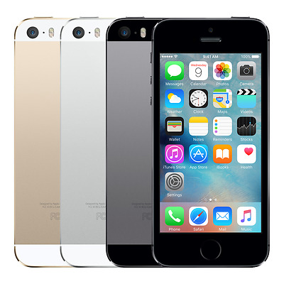 Apple iPhone 5s 16GB IOS 4G LTE Verizon Wireless Space Gray - Silver - Gold