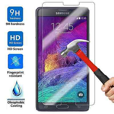 50x Wholesale Lot Tempered Glass Screen Protector for Samsung Galaxy Note 4