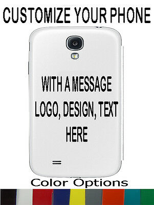 Custom Personalize Sticker Decal for Cell Phones Iphone Samsung Galaxy ETC