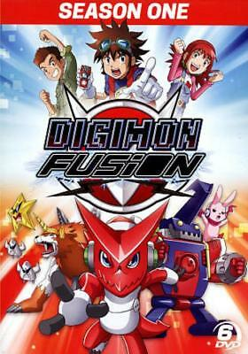 DIGIMON FUSION SEASON ONE NEW DVD