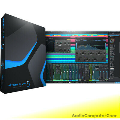 PreSonus STUDIO ONE 5 PROFESSIONAL UPGRADE FROM PRO 1-4 Software DAW NEW