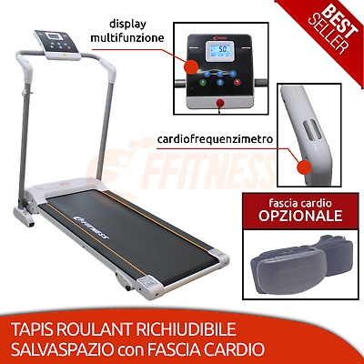 Tapis De Course Cardio Training Fitness Athlétisme Yoga