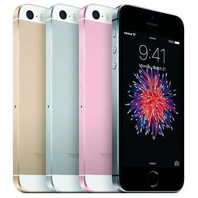 Apple iPhone SE 64GB iOS Smartphone Handy ohne Vertrag iSIGHT LTE4G WLAN WOW