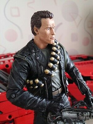 Arnold Schwarzenegger The Terminator T800 Action Figure Model Toy 18cm Doll NECA