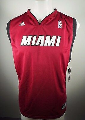 Miami Heat Official NBA Adidas Apparel Kids Youth Size Blank Jersey New Tags