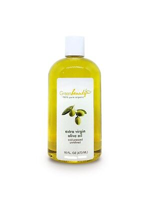 OLIVE OIL EXTRA VIRGIN ORGANIC CARRIER COLD PRESSED 100 PURE 4 OZ TO 1 GALLON