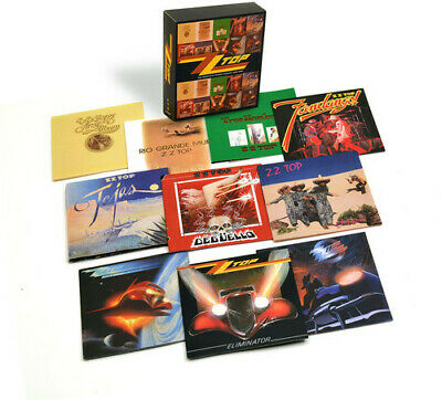 ZZ Top - Complete Studio Albums New CD Boxed Set