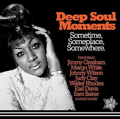 Various Artists - Deep Soul Moments Sometime Someplace  Various New CD UK - I