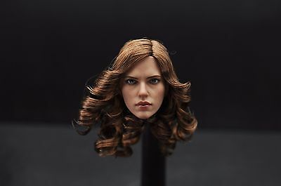 ZC TOYS 16 Scarlett Johansson Black Widow Head Sculpt Model F 12 Female Body