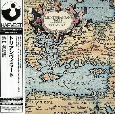 Triumvirat - Mediterranean Tales New CD Japanese Mini-Lp Sleeve Japan - Impor