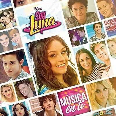Soy Luna Elenco - Musica En Ti New CD Argentina - Import