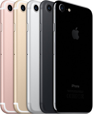 iPhone 7 PLUS 32GB 128GB 256GB - Jet Black  Black  Silber  Gold  Rosé  Red