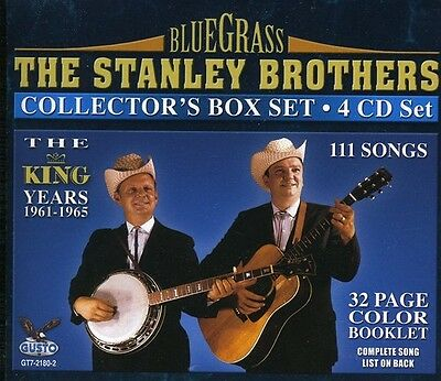 The Stanley Brothers - King Years 1961-1965 New CD Boxed Set