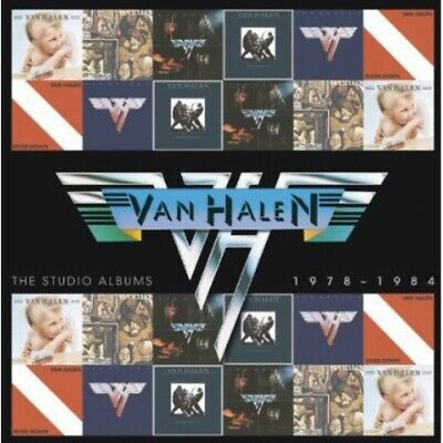 Van Halen - Studio Albums 1978-1984 New CD Portugal - Import
