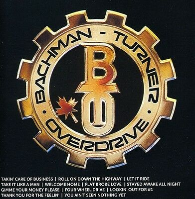Bachman-Turner Overdrive - Icon New CD