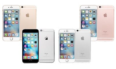 Apple iPhone 6 6S - Factory Unlocked AT-T-T-Mobile Space Gray Silver Gold