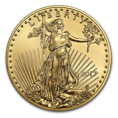 2017 1 oz Gold American Eagle Coin BU - SKU 117271
