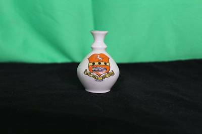 Vintage Carlton China Miniature Vase Goss Crested Decorative Collectible Flowers