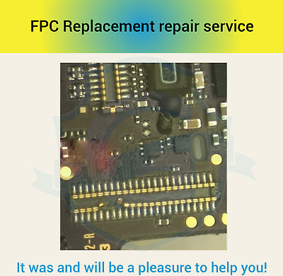 Digitizer Touch Screen FPC Connector Repair Replacement  Service iPhone 6 Plus