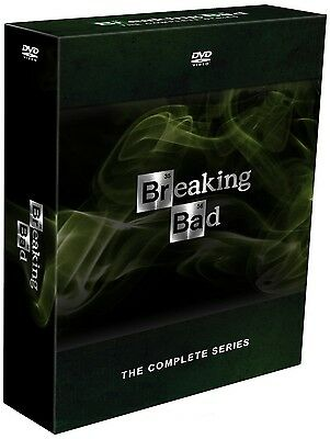 Breaking Bad Complete Series Seasons 1-5 DVD Set 21 Discs BRAND NEW Sealed