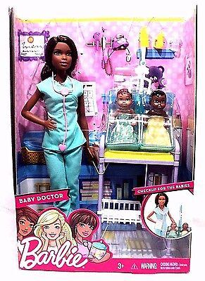 Barbie Baby Doctor Checkup For The Babies by Mattel BNIB