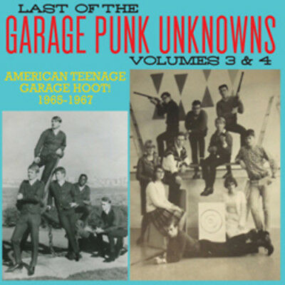 Various Artist - Last Of The Garage Punk Unknowns 3 - 4 CD New