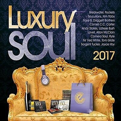 Various Artists - Luxury Soul 2017  Various New CD UK - Import