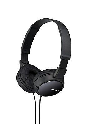 Sony MDRZX110BLK Stereo On-Ear-Headphones Black Brand New Free Shipping