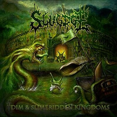 Slugdge - Dim And Slimeridden Kingdoms New Vinyl LP Colored Vinyl