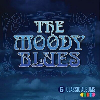 The Moody Blues - 5 Classic Albums New CD UK - Import