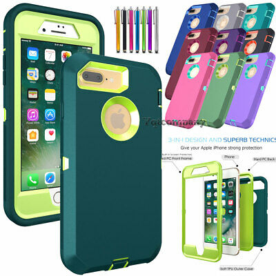 For iPhone 6 7 8 Plus 11 12 Pro Max XR XS SE Case Protective Rugged Hybrid Cover