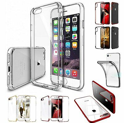 For iPhone 7 8 Plus X XS MAX XR 11 12 Pro Case Shockproof Silicone Bumper Cover
