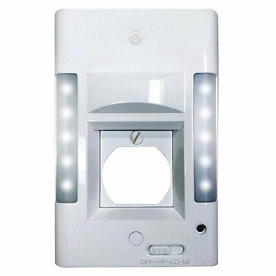 X3 Capstone 2 in 1 10 LED Wall Plate Power Failure Solution Light