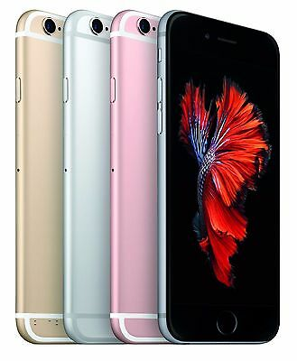 APPLE IPHONE 6S Plus4S  FACTORY UNLOCKED  Rose Gold Gray Silver Gold Phone NC