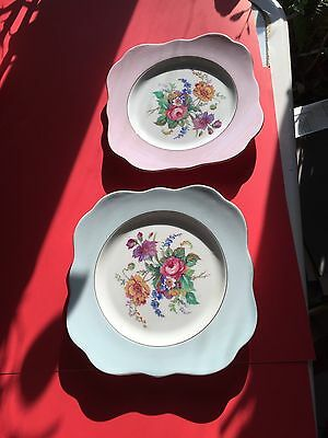 COLCLOUGH CHINA MADE IN LONGTON ENGLAND 2 PLATES