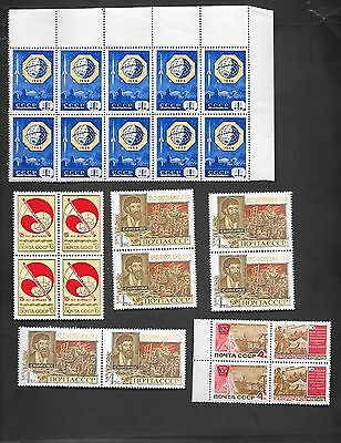 RUSSIA - COLLECTION OF 50 VERY OLD MINT NEVER HINGED STAMPS - NICE