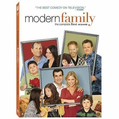 Modern Family The Complete First Season DVD 4-Disc Set- Brand New-