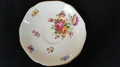 Royal Grafton Fine Bone China Made in England Gold Trimmed Saucer