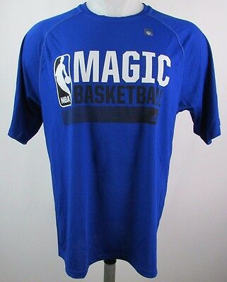 Orlando Magic Mens Icon Climalite Graphic T-Shirt NBA adidas Blue