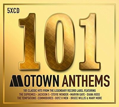 Various Artists - 101 Motown Anthems  Various New CD UK - Import