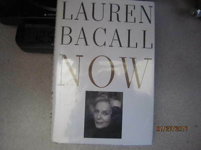 Signed 1994 LAUREN BACALL NOW 1st Edition Hardback BOOK - Personalized