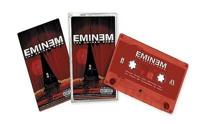 Eminem THE EMINEM SHOW Lenticular Cover Art NEW RED COLORED CASSETTE TAPE