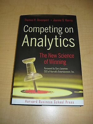 Competing on Analytics The New Science of Winning by Davenp - Harris Hardcover
