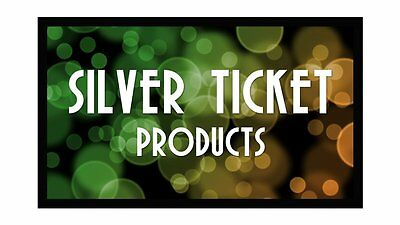 Silver Ticket Products Fixed Frame Projection Screen 169 4K HDTV Movie Theater