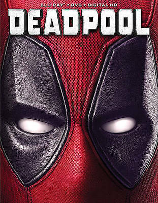 Deadpool Blu-rayDVD 2-Disc Set New Sealed with Slipcover Free shipping
