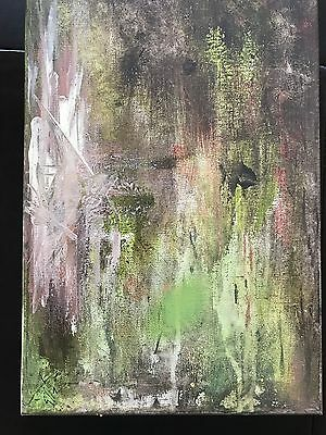 ORIGINAL MODERN PAINTING Abstract Wall ART Contemporary canvas Decor Signed