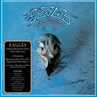 The Eagles - Their Greatest Hits Volumes 1 - 2 New CD
