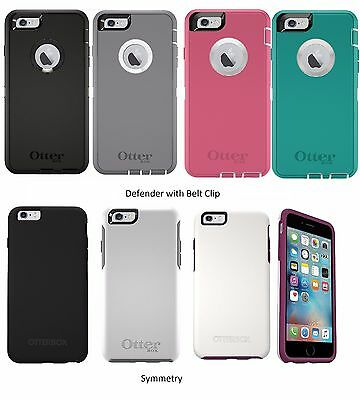 New Otterbox Defender Symmetry Commuter Series Case For iPhone 66s Plus 5-5